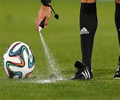 اسپری محو شونده (vanishing spray ) در فوتبال چیست ؟