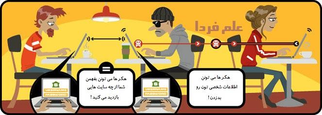 هکر ها از طریق شبکه وای فای می تونن اطلاعات شخصی تون رو بدزدن !
