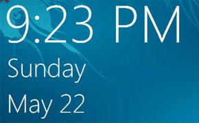 ساعت و تاریخ در ویندوز 8