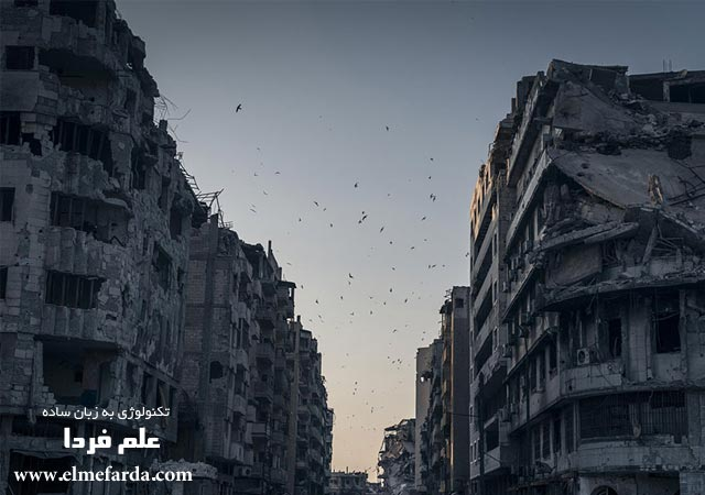 "Destroyed Homs,"" Homs, Syria, Places Category"