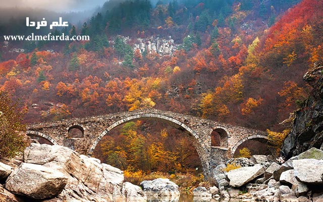 Devil's-Bridge-In-Rhodope-Mountains,-Bulgaria