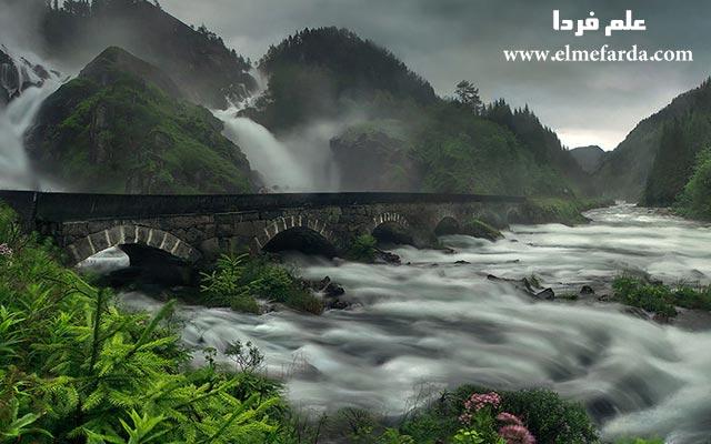 Låtefossen-Waterfall,-Norway