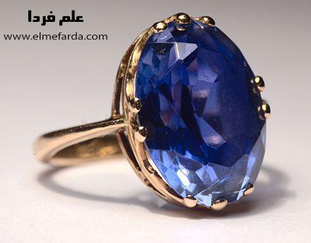 انگشتر یاقوت کبود یا Sapphire