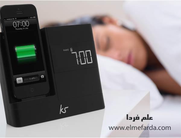 شارژ کردن گوشی از شب تا صبح