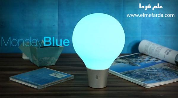 لامپ ColorUp به رنگ آبی