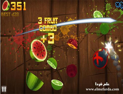 بازی Fruit Ninja