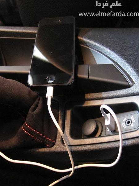 شارژ کردن گوشی داخل ماشین