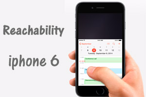 نگاهی به قابلیت Reachability ( کار با یک دست ) در آیفون ۶