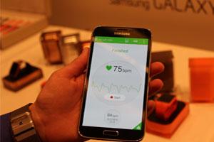 سنسور تشخیص ضربان قلب گلکسی اس 5