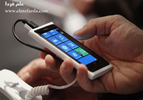 استفاده از گوشی هنگام شارژ کردن