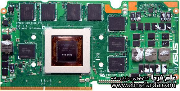 کارت گرافیک لپ تاپ ایسوس G570JH - مدل GTX 880M