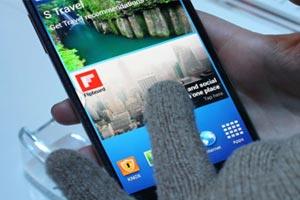 glove mode در گلکسی نوت و اس 5