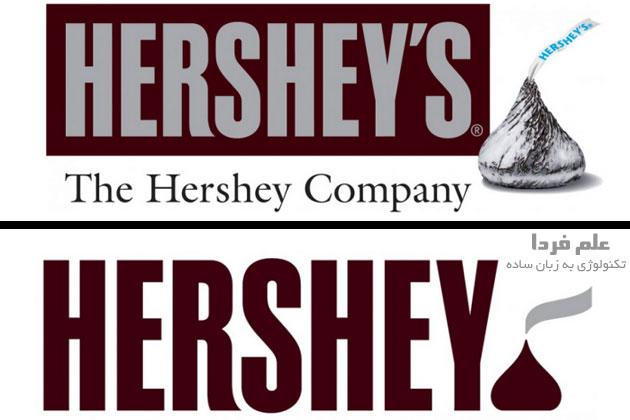 لوگوی hershey جدید - 2014