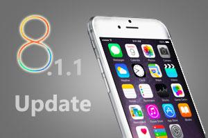 آپدیت iOS 8.1.1 برای رفع ایراد های iPhone 4s و iPad 2