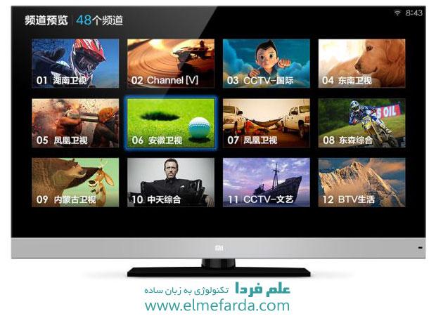تلویزیون هوشمند شرکت  شیائومی xiaomi به نام miTV