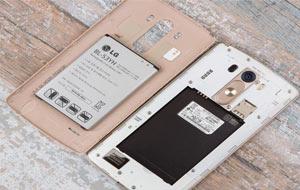 مقایسه باتری LG G3 با HTC ONE M8