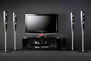 پخش کردن صدای تلویزیون از سینما خانگی