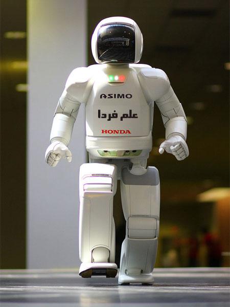 راه رفتن ربات آسیمو
