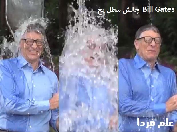 چالش سطل یخ بیل گیتس Bill Gates