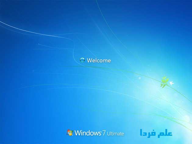 نصب ویندوز ۷ - مرحله 16 - اعمال تنظیمات محیط ویندوز