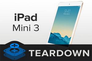 کالبد شکافی آیپد مینی 3 ، قطعات ipad mini 3