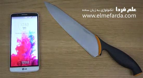 بازی فروت نینجا با چاقو در LG G3