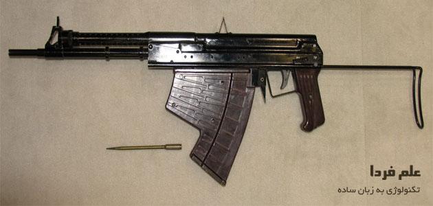 اسلحه مخصوص شلیک گلوله زیر آب