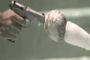 شلیک گلوله زیر آب