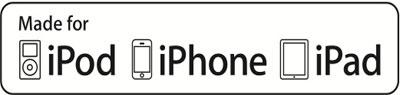 لوگوی MFi در محصولات اپل