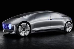 مرسدس بنز F015 ؛ بهترین خودروی مفهومی CES 2015