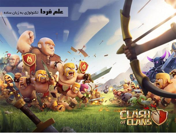 بازی اندرویدی clash of clans