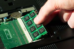 تعویض رم RAM لپ تاپ