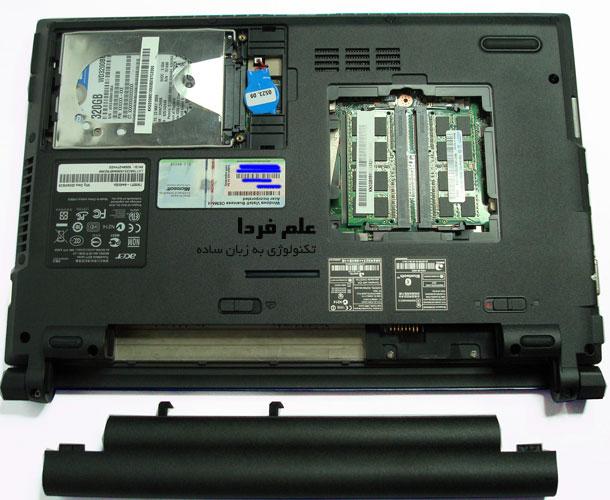 رم RAM لپ تاپ در دسترس است
