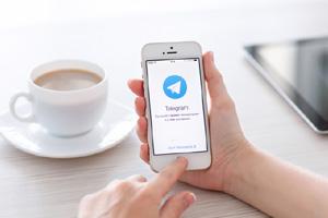 آموزش ارسال فایل با برنامه تلگرام