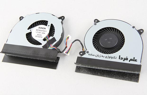 فن خنک کننده ایسوس N550JK