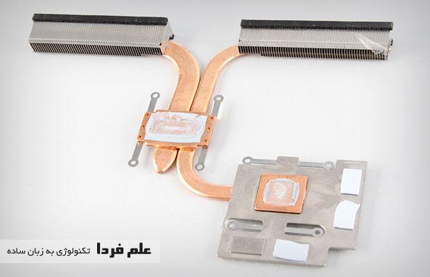 لوله های مسی خنک کننده ایسوس N550JK
