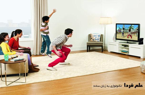 بازی کردن با کینکت Kinect
