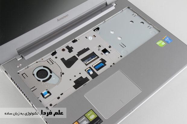 پیچ های زیر کیبورد لنوو Z510