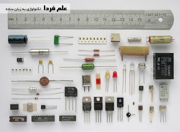 انواع قطعات الکترونیکی اکتیو و پسیو
