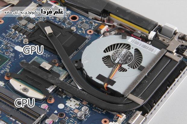 سیستم خنک کننده لنوو Z510