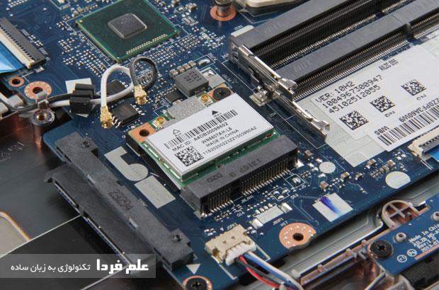ماژول وای فای روی مادربورد لنوو Z510