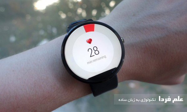 اندازه ساعت هوشمند