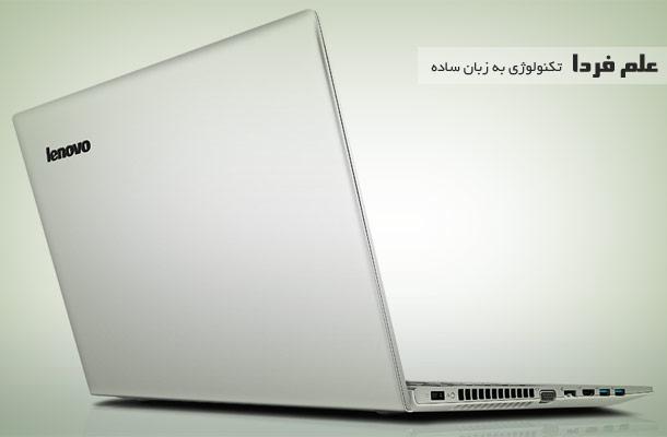 لنوو Z510 از پشت و کنار