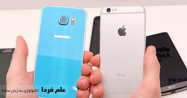 مقایسه دوربین Galaxy S6 و iphone 6