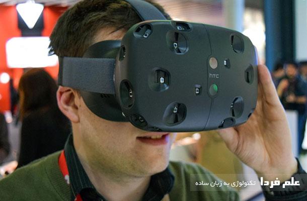 دستگاه HTC Vive VR