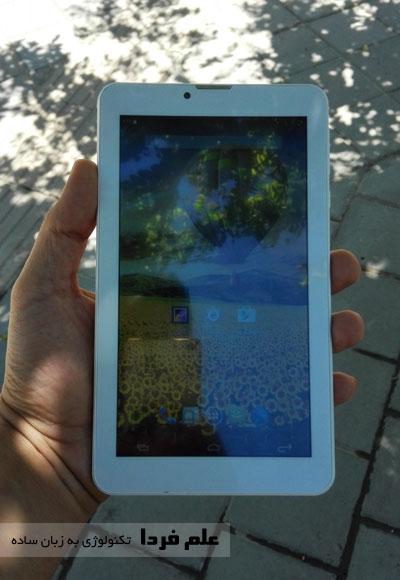 صفحه نمایش تبلت اسمارت رونیکس در محیط بیرون