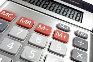 دکمه حافظه MC و MR روی ماشین حساب