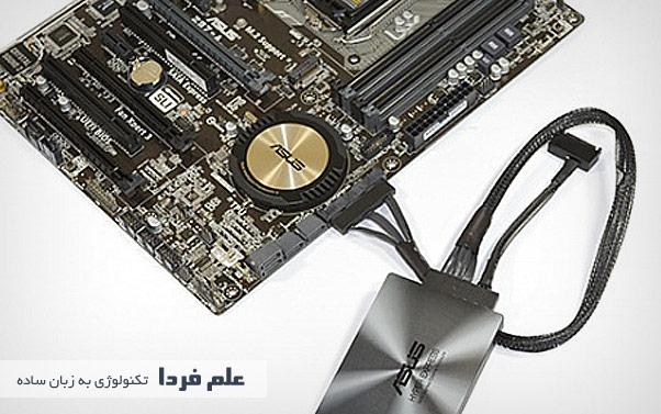 حافظه SSD متصل به مادربورد
