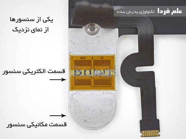 اجزای سنسور فشار سنج در فورس تاچ