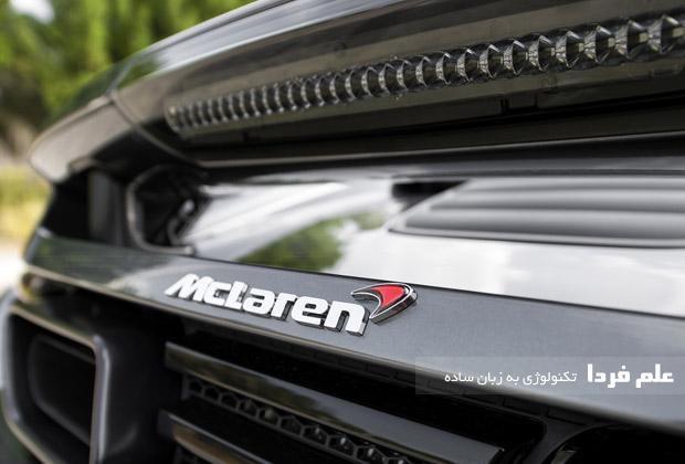 مارک ماشین مک لارن McLaren